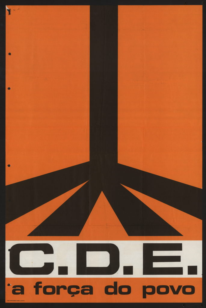 Democratic Election Commission (CDE) Pamphlet - 1969